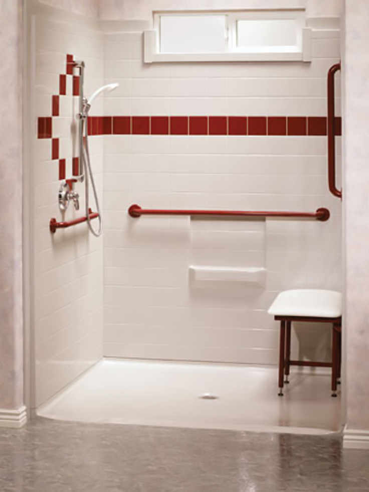 Handicap showers for How to build a wheelchair accessible shower