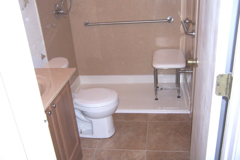 Tub to shower conversions - Walk in tub and shower units ...